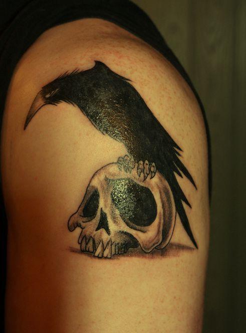 Kruk Tatuaż Supertatuaze